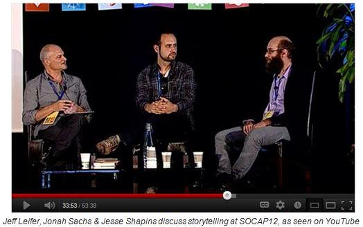 Jeff Leifer, Jonah Sachs and Jesse Shapins discuss storytelling